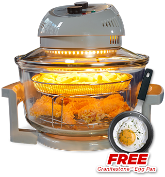 Order Big Boss™ Oil-Less Fryer Today!